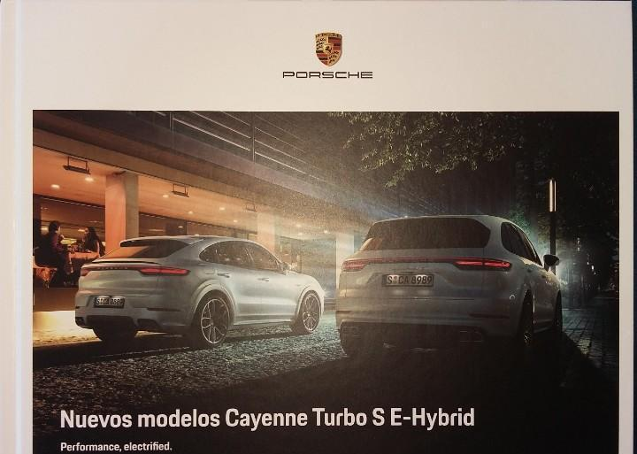 Catálogo porsche cayenne turbo s e-hybrid. agosto 2019. en