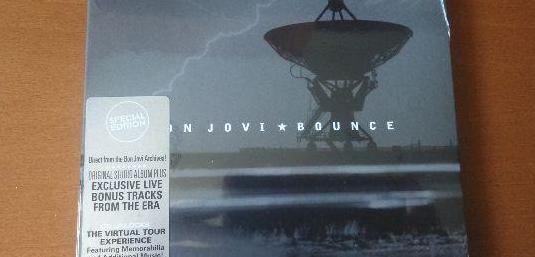Cd genero rock grupo bon jovi bounce
