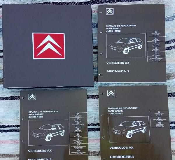Citroën AX. Manual de Reparación 8921, 8922, 8923.