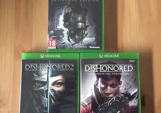 Colección juegos dishonored xbox