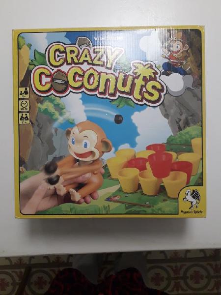 Cracy coconuts, juego divertido.