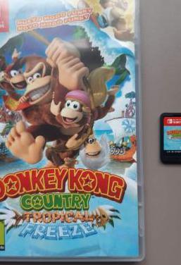 Donkey kong juego switch