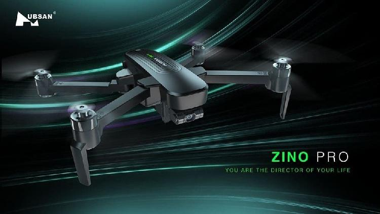 Dron hubsan zino pro con 3 baterías