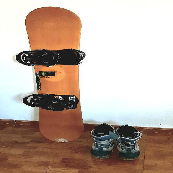 Equipo completo snowboard (¡ganga!)