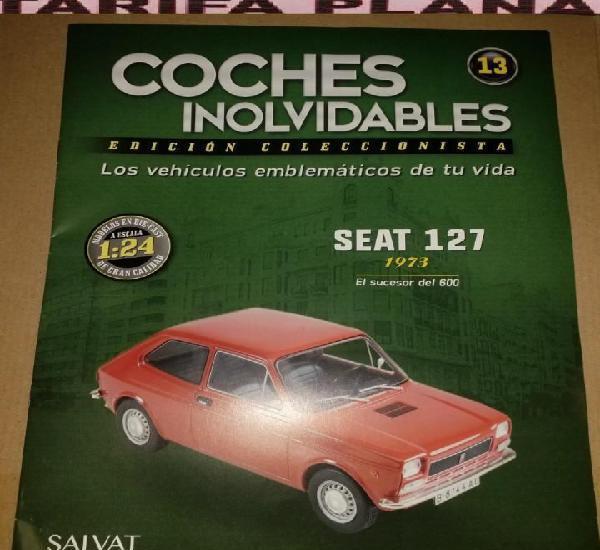 Fasciculo n 13 seat 127 1973 de la coleccion de coches