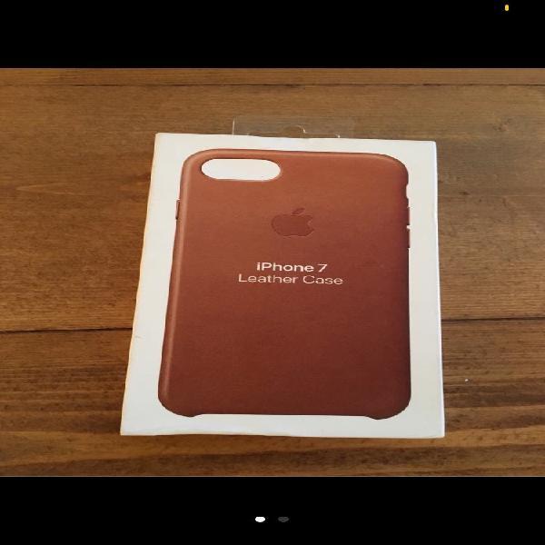 Funda apple iphone 7 / 8 cuero marrón nuevo