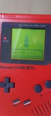 Game boy clásica roja original
