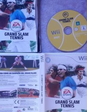 Grand slam tennis nintendo wii nuevo