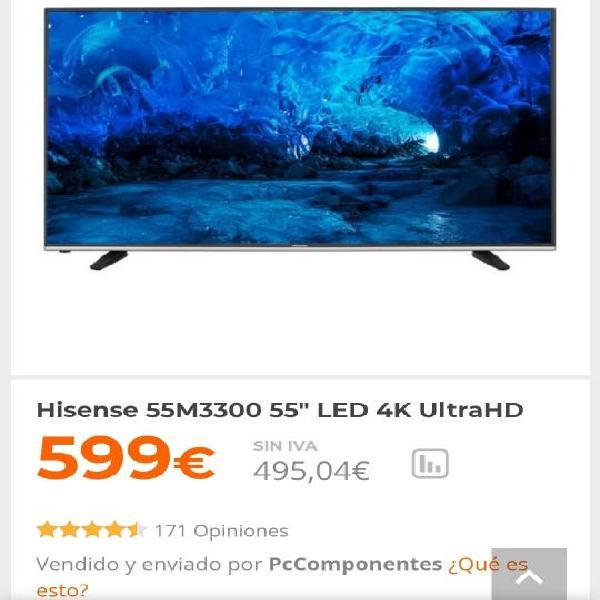 """Hisense 55m3300 55"""" led 4k ultrahd"""