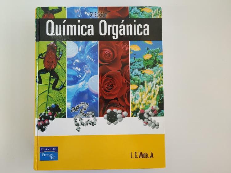 Libro química orgánica l.g.wade, jr 5°edicion.