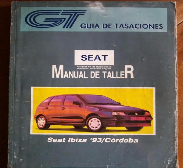 Manual de taller seat ibiza 93 - cordoba