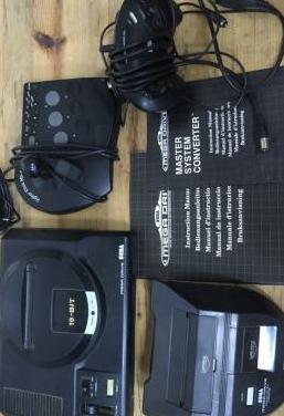 Megadrive sega 16 bits master system converter