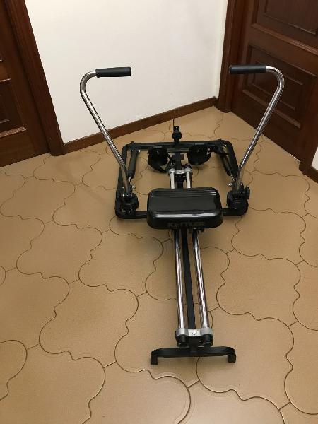 Maquina de remo, gimnasia, fitness