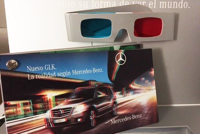 Mercedes benz. imagine otra realidad. (publicidad del