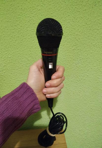 Micrófono pro basic digital dm-x1 impedance 600