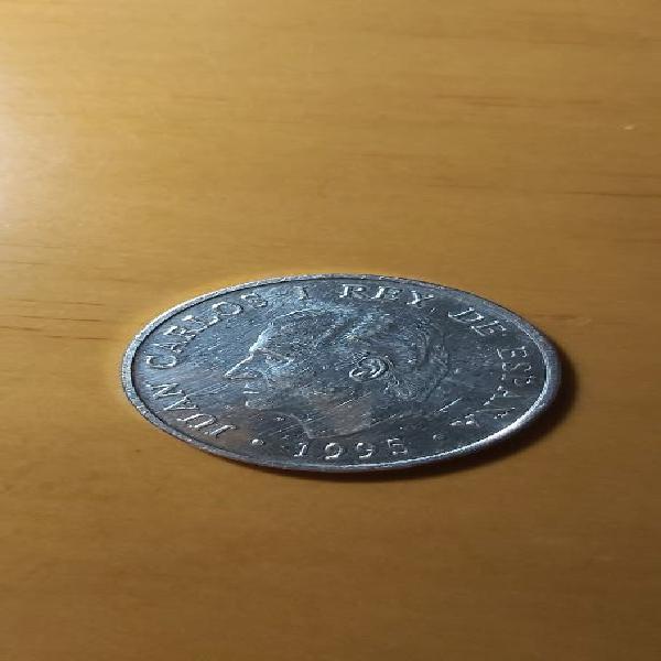 Moneda de plata 2000 pesetas de 1995