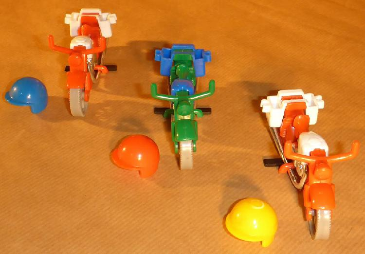 Motos surtidos de famobil