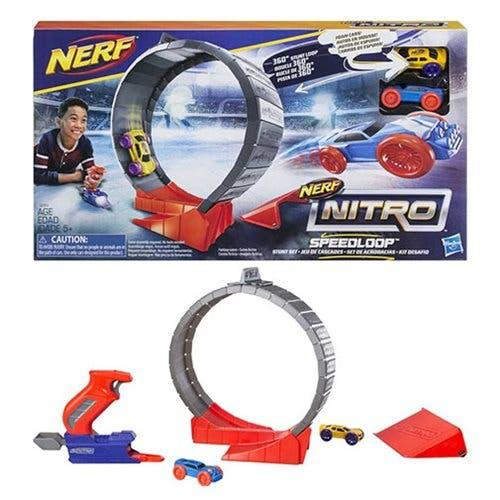 Nerf nitro pista circuito acrobacias speedloop