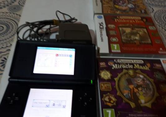 Nintendo ds lite 3 juegos completos
