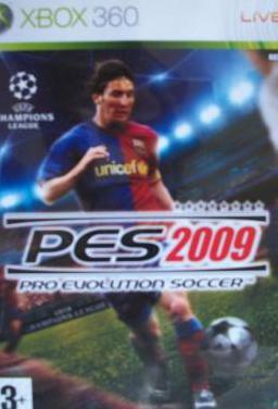 Pes 2009 pro evolution soccer (xbox 360)