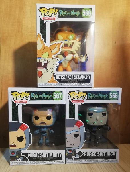 Pack coleccion rick and morty