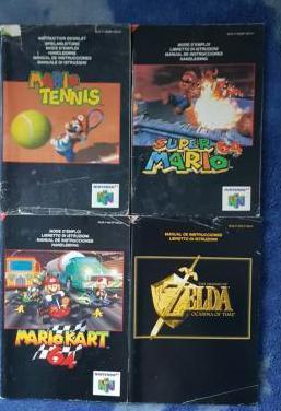 Pack manuales n64