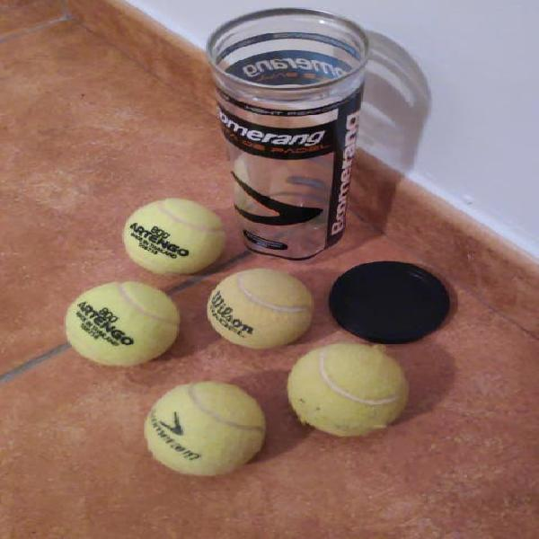 Pelotas tenis pádel