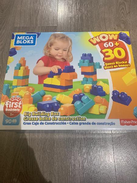 Piezas de construcción mega blocks