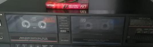 Platina cassette doble technics rs-t25
