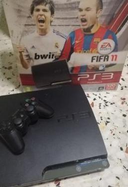 Playstation 3 slim 320gb y videojuegos.
