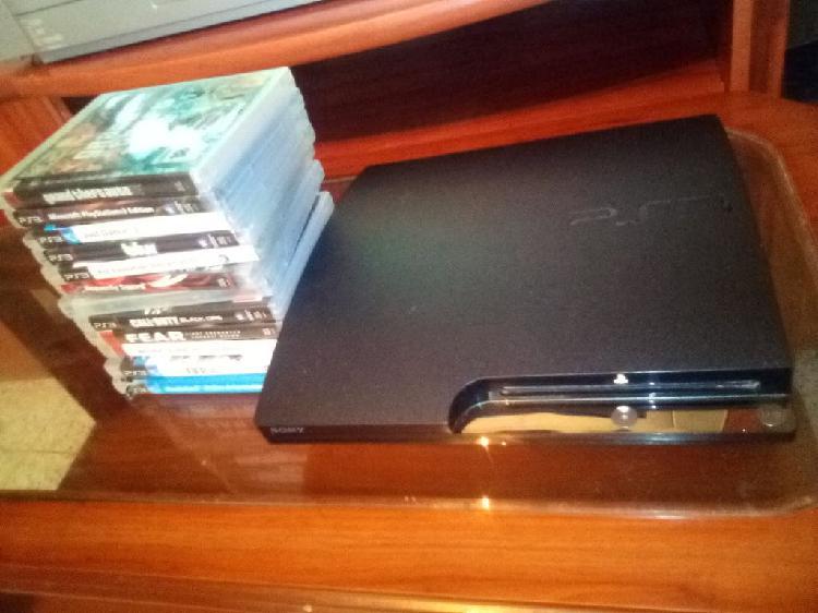 Playstation3 de 320gb+14 juegos