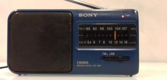 Radio transistor sony icf 390