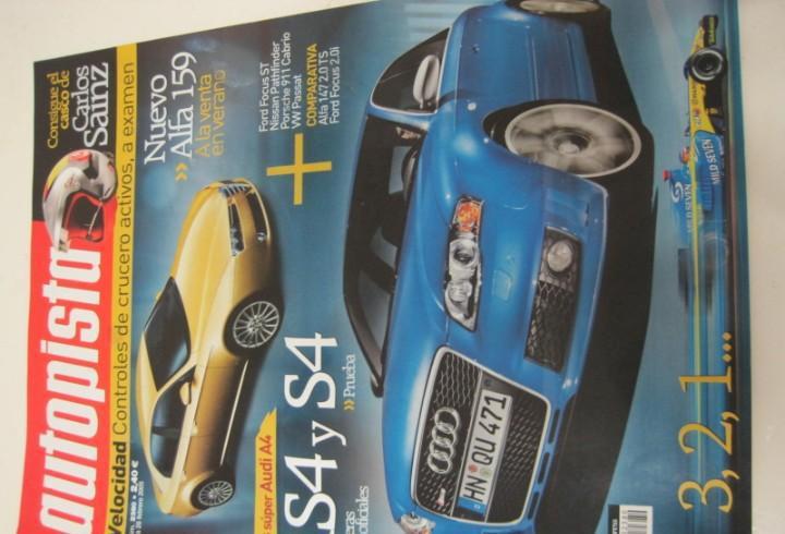 Revista autopista 2005: audi s4 avant v8; ford focus; alfa
