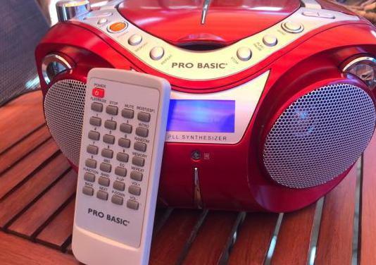 Radio cd mp3 pro basic