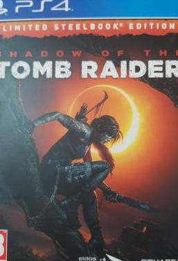 Steelbook shadow of the tomb raider ps4