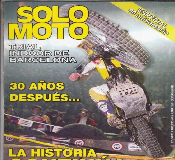 Suplemento solo moto actual.30 aniversario trial indoor de