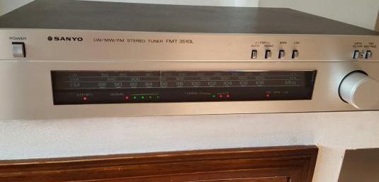 Sanyo fmt-3510l sintonizador tuner tribanda