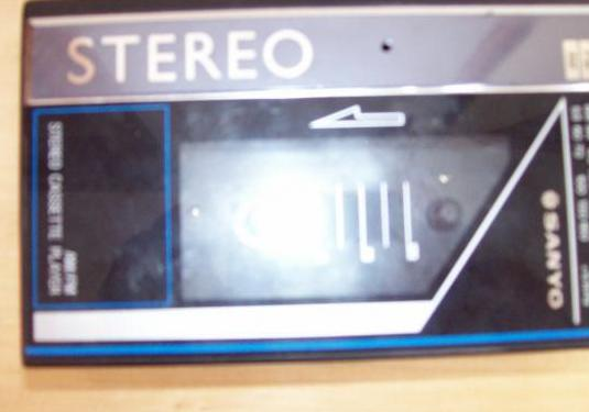 Sanyo,stereo cassette player (walkman)