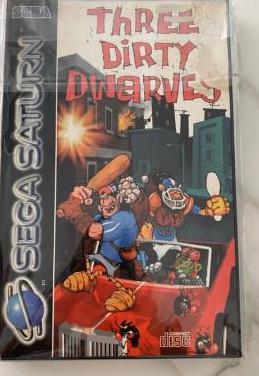 Sega saturn three dirty dwarves