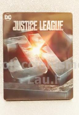 Steelbook bluray la liga de la justicia limitada