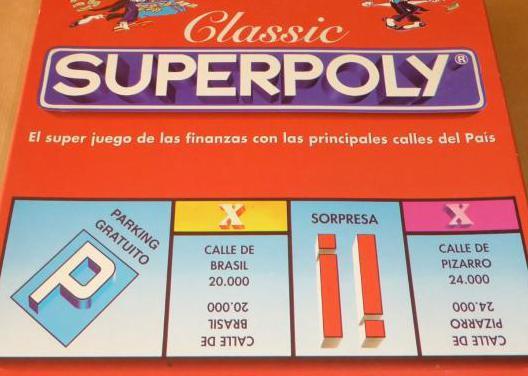 Superpoly juego de mesa