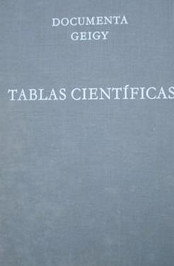 Tablas cientificas documenta geigy