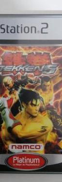 Tekken 5 de namco para la sony play station 2 ps2