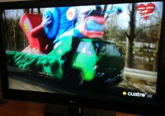 Televisión lcd lg 42 pulgadas full, hd