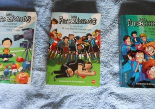 Tres libros de los futbolisimos impecables