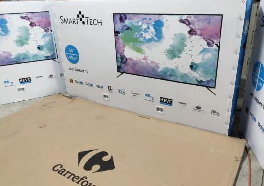 "Tv 65"" smarttech smart tv android nueva"