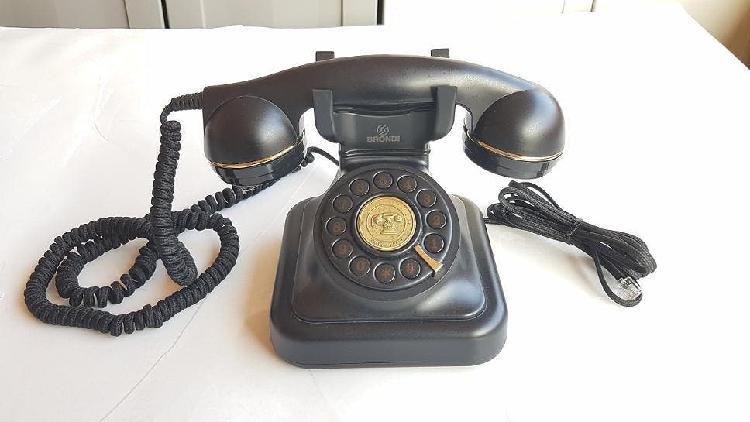 Telefono antiguo brondi vintage 20 heraldo botones