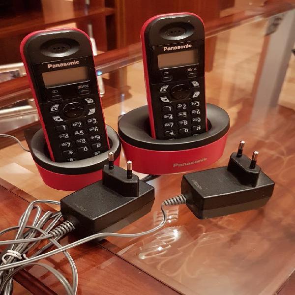 Teléfonos inalámbricos panasonic kx-tg1312spr