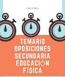 Temario oposiciones profesores educacion física 2020