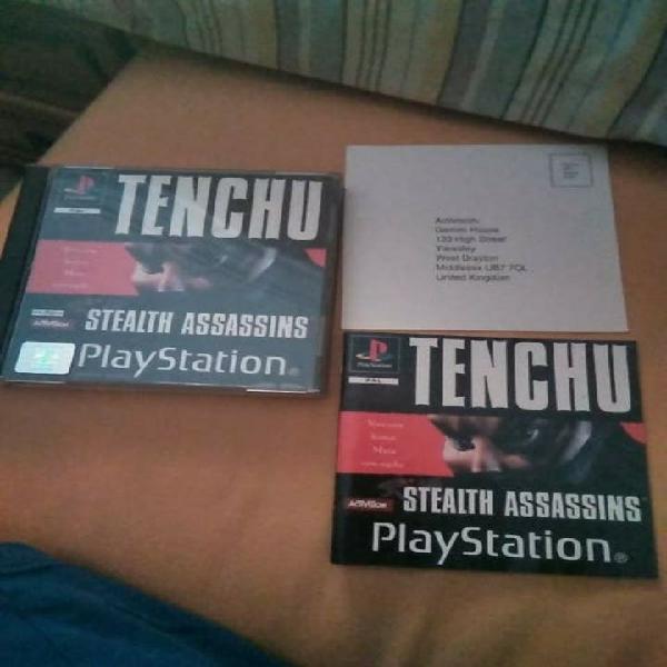 Tenchu ps1 psx playstation 1 pal españa completo